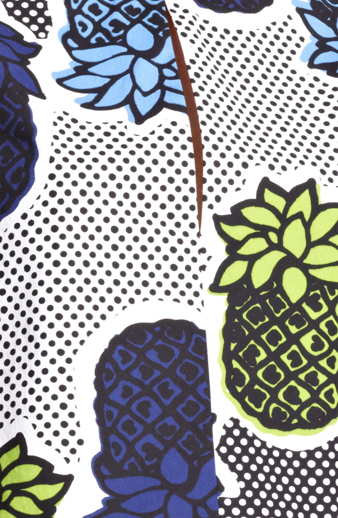 Alternate Image 2  - Moschino Cheap & Chic Pineapple Print Blouse