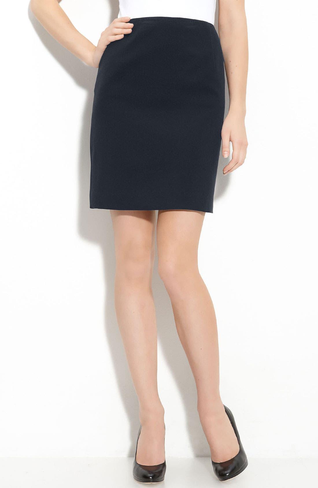 Main Image - T Tahari 'Melvina' Pencil Skirt (Petite)