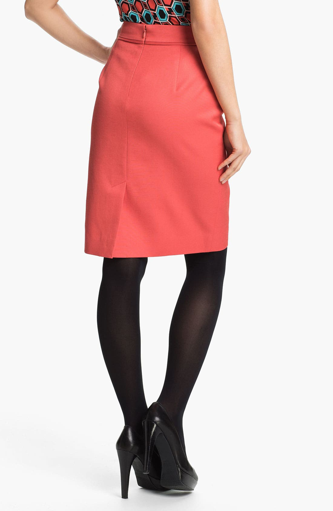Alternate Image 2  - Classiques Entier® 'Taylor - Dobby' Skirt