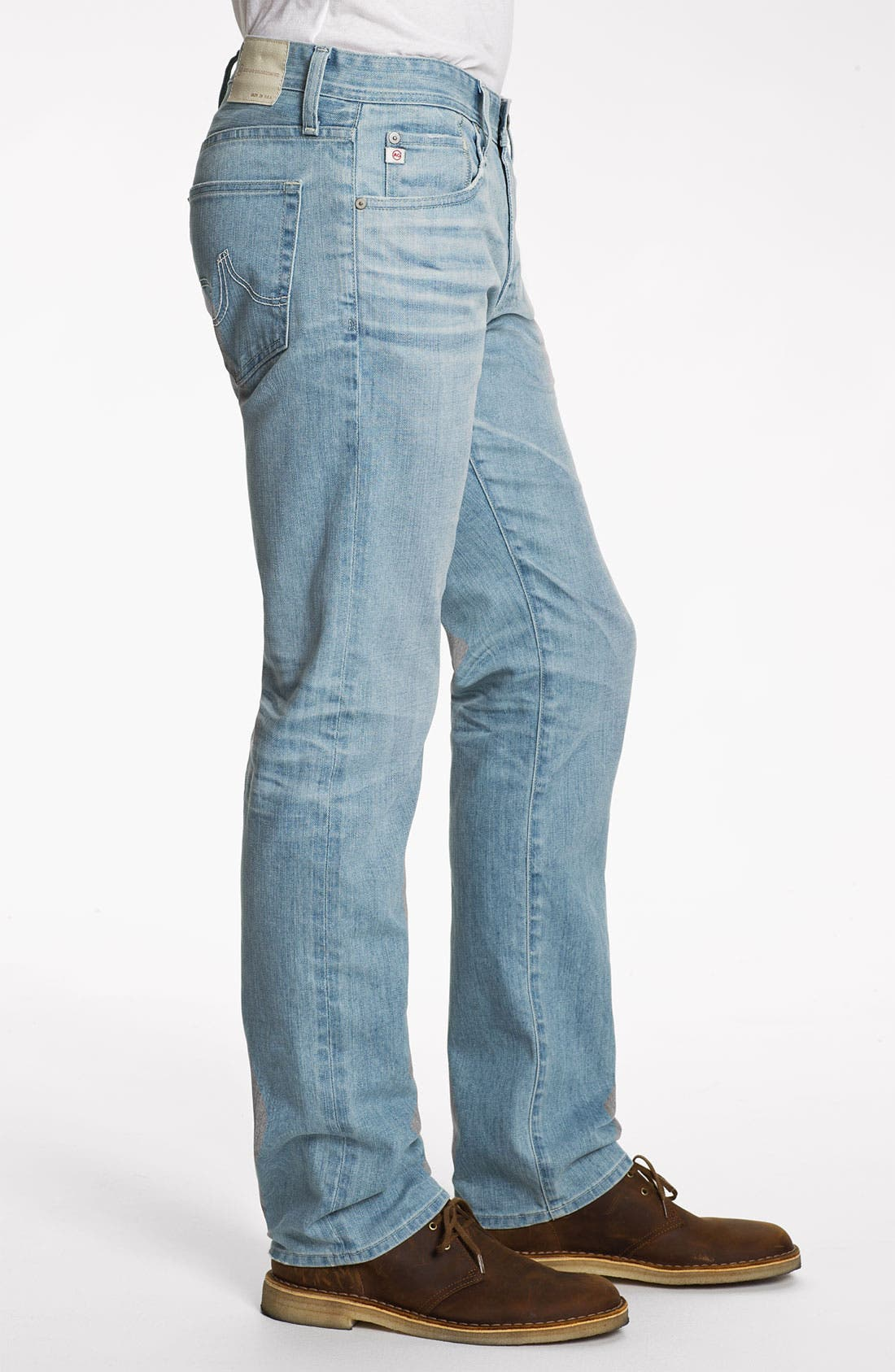 Alternate Image 3  - AG 'Matchbox' Slim Fit Jeans (24 Year Fade)