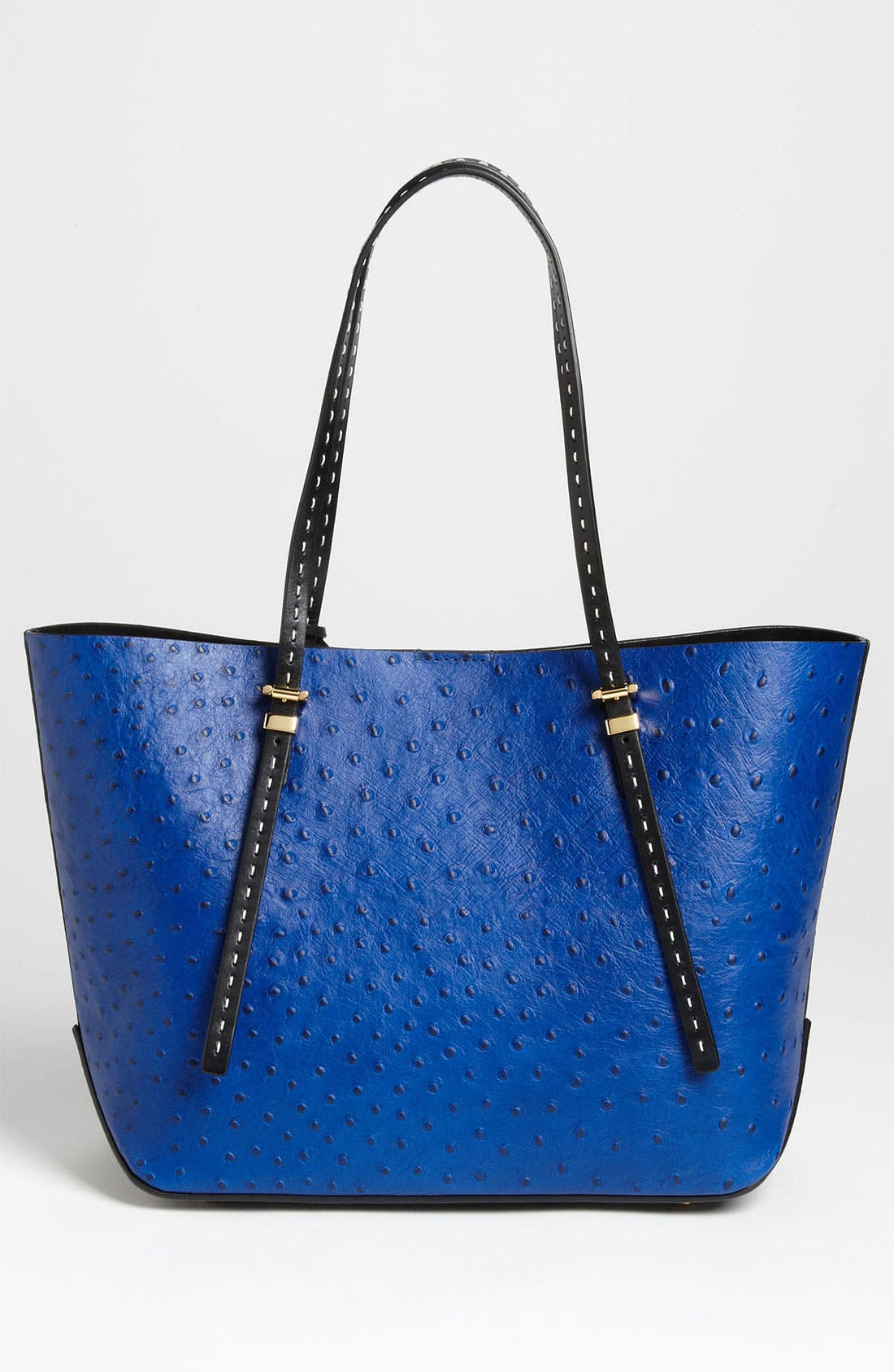 Alternate Image 4  - Michael Kors 'Gia - Small' Ostrich Embossed Leather Tote