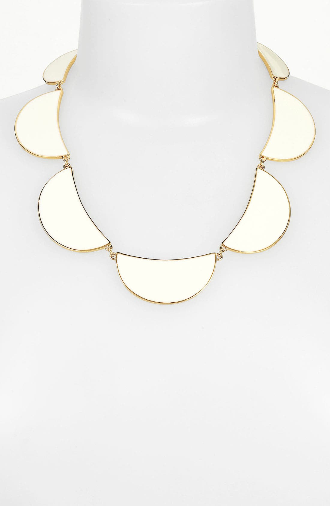 Alternate Image 1 Selected - kate spade new york 'scallop' frontal necklace
