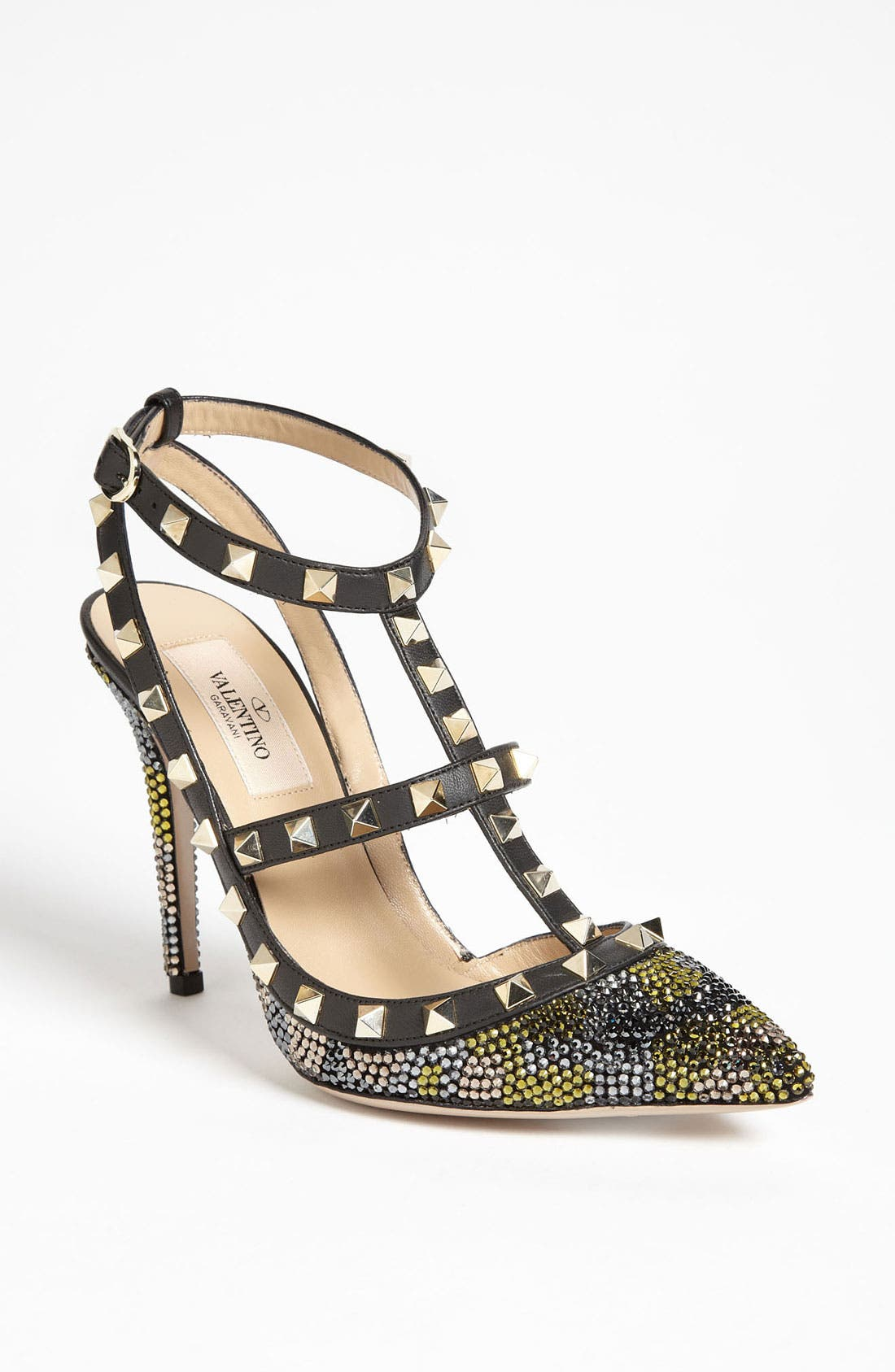 Alternate Image 1 Selected - Valentino 'Camo Rockstud' Pump