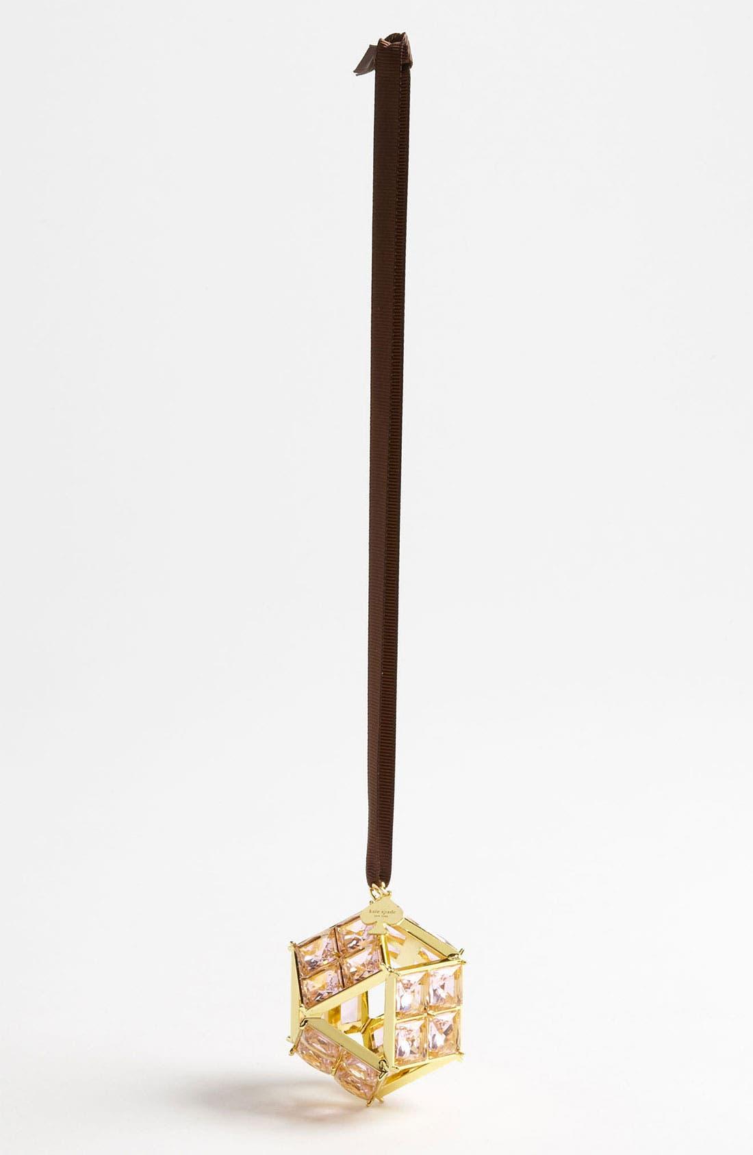 Alternate Image 1 Selected - kate spade new york bejeweled prism ornament