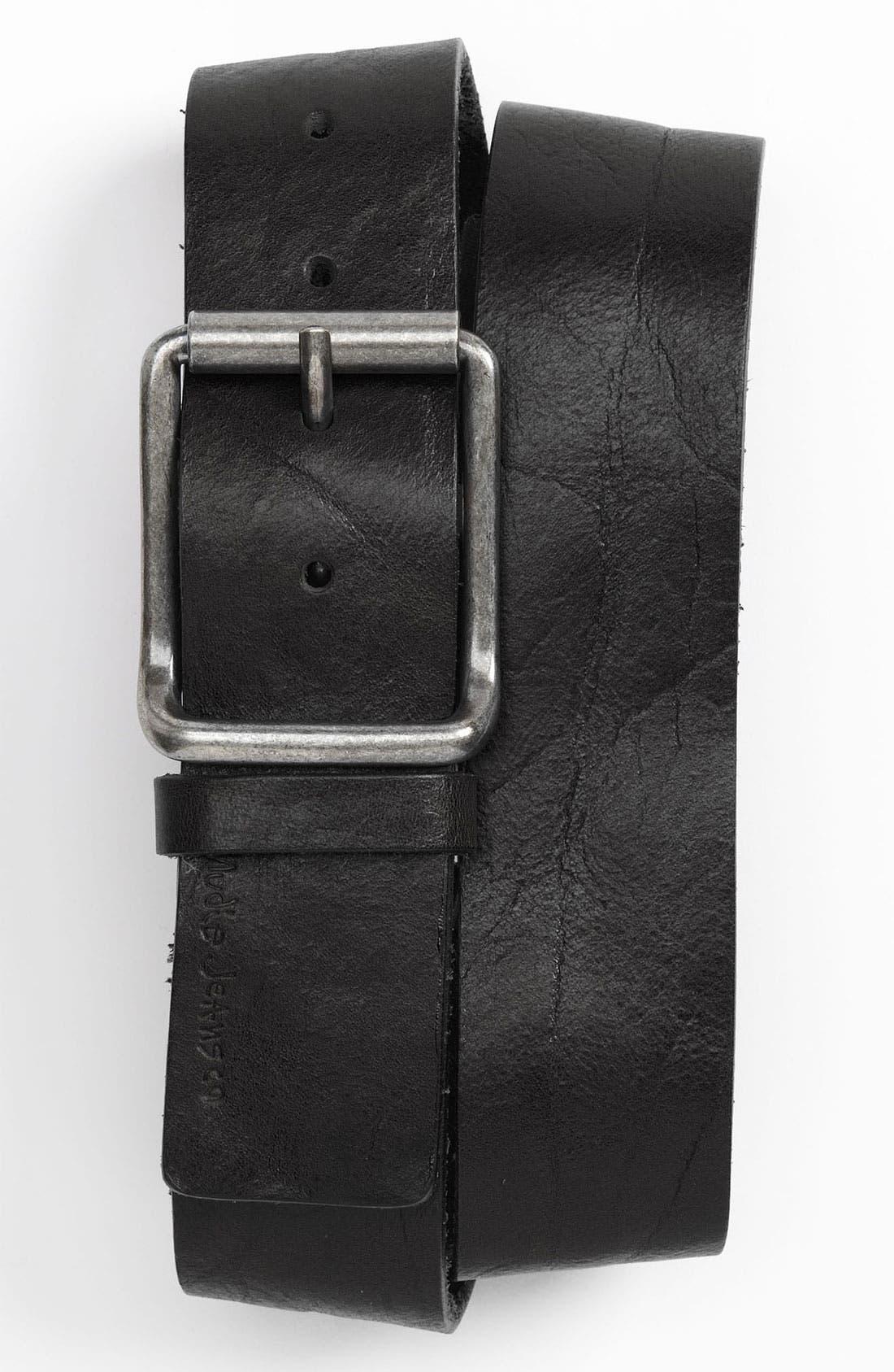 Alternate Image 1 Selected - Nudie 'Joelsson' Leather Belt