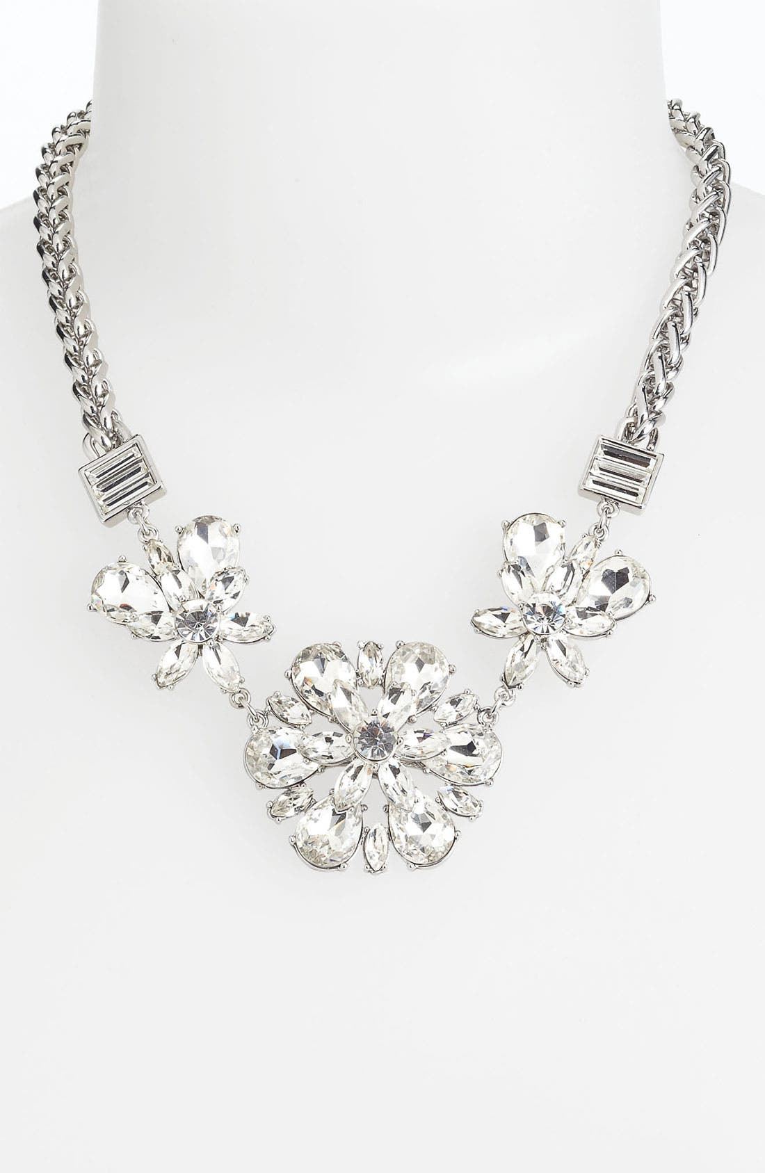 Alternate Image 1 Selected - kate spade new york 'electric gardens' frontal necklace
