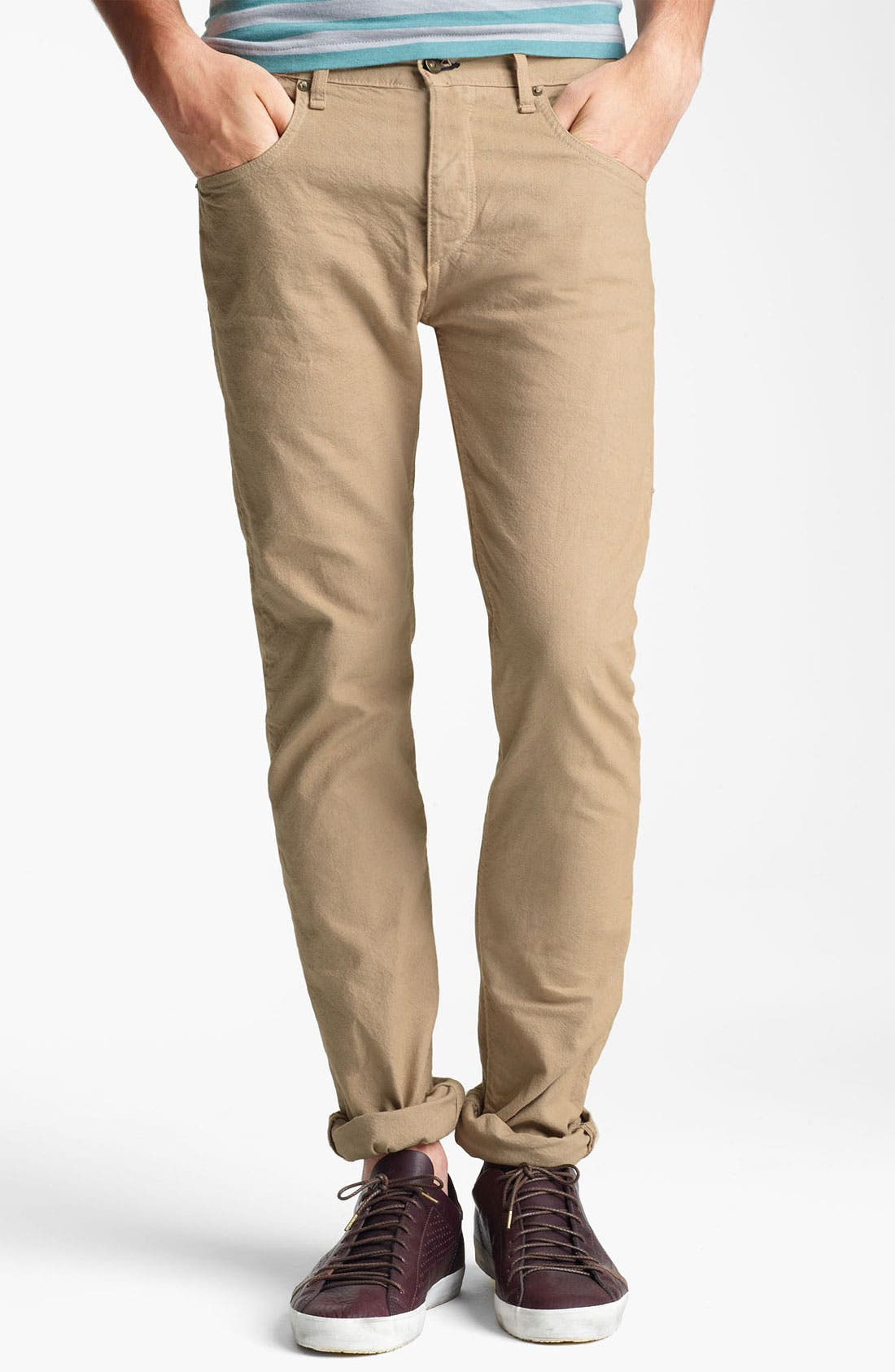 Alternate Image 1 Selected - rag & bone 'RB15X' Cotton Chinos
