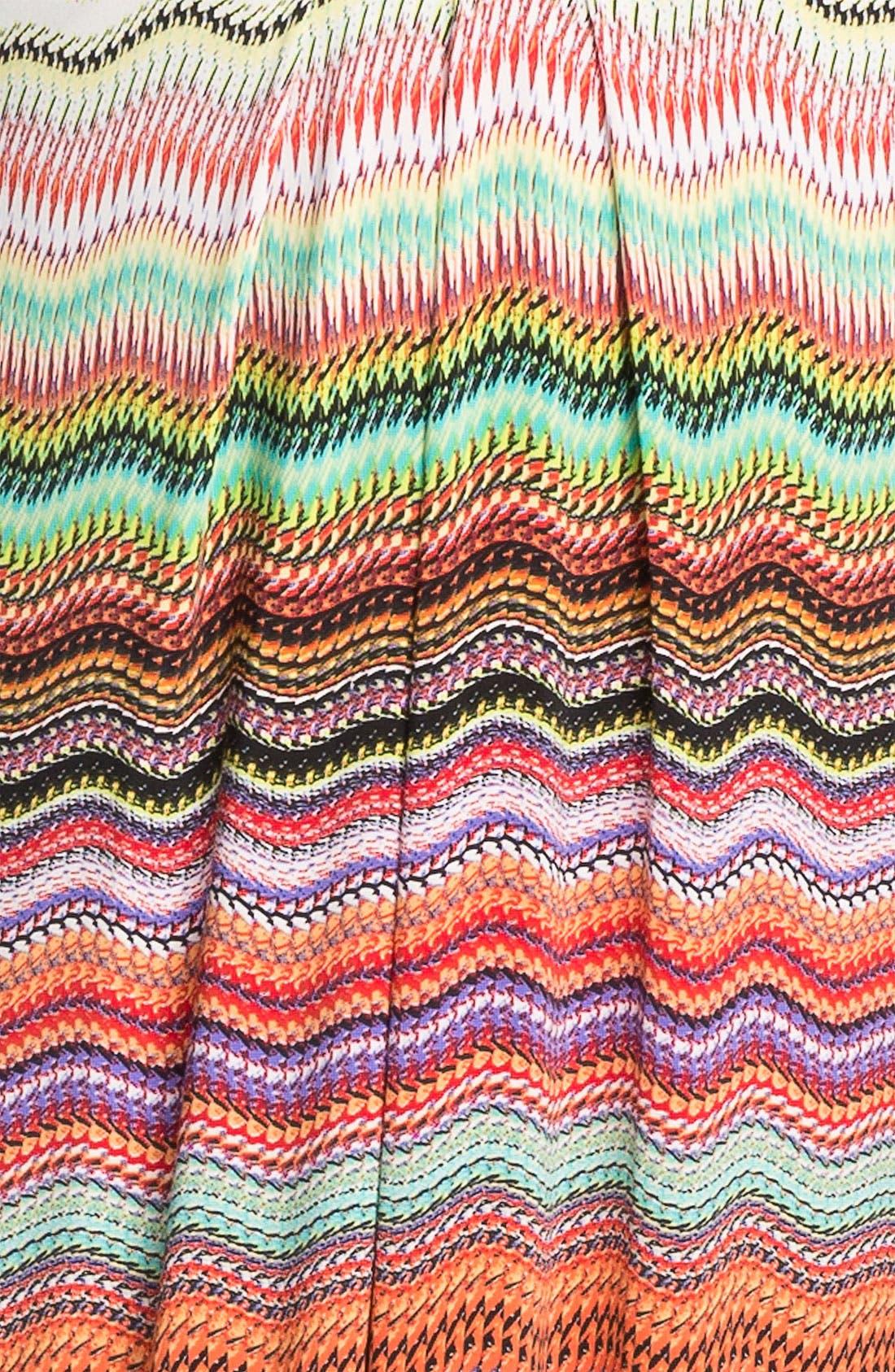 Alternate Image 3  - Tbags Los Angeles Faux Wrap Maxi Dress (Plus)