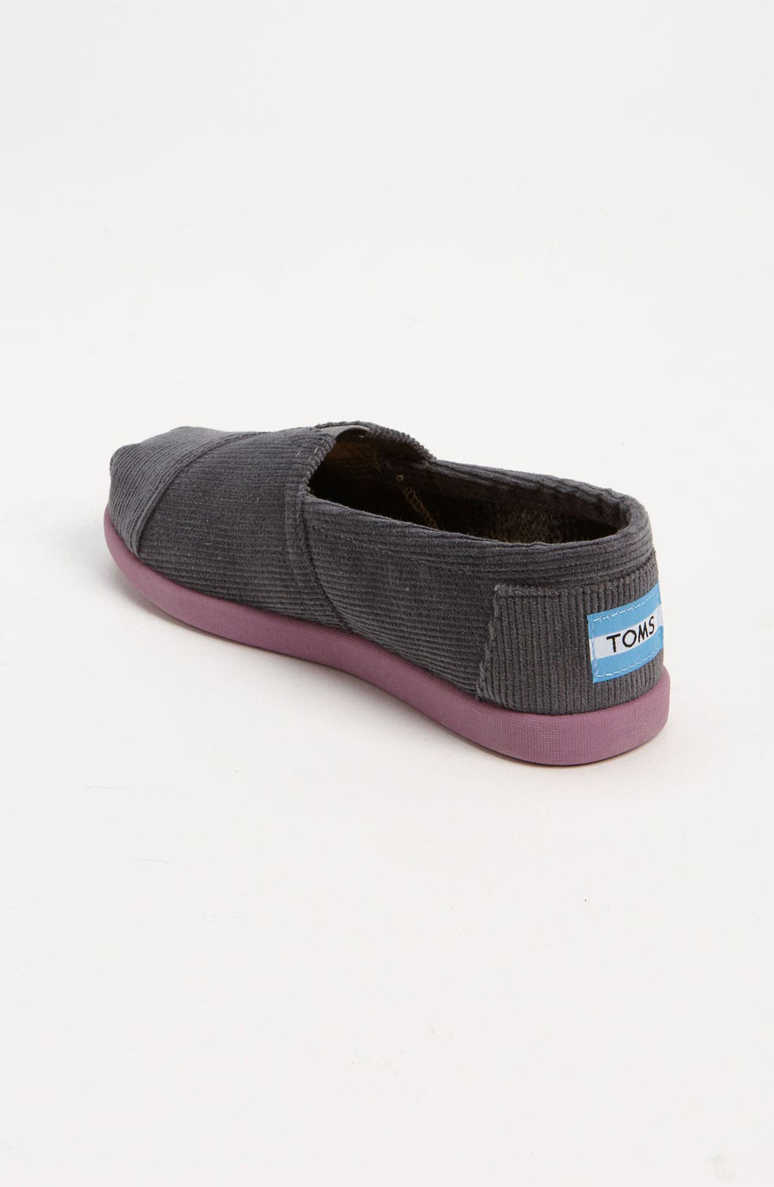 Alternate Image 2  - TOMS 'Classic' Corduroy Slip-On (Toddler, Little Kid & Big Kid)