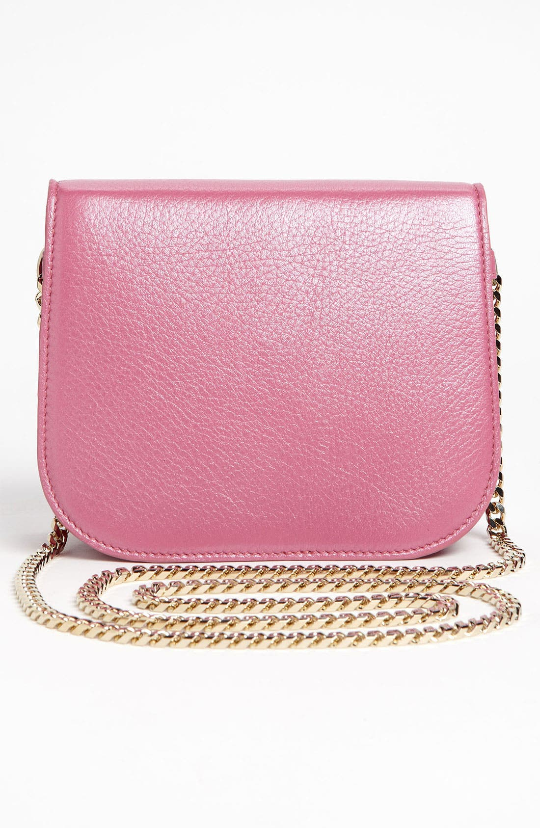 Alternate Image 4  - Jimmy Choo 'Shadow' Pearlized Leather Crossbody Bag