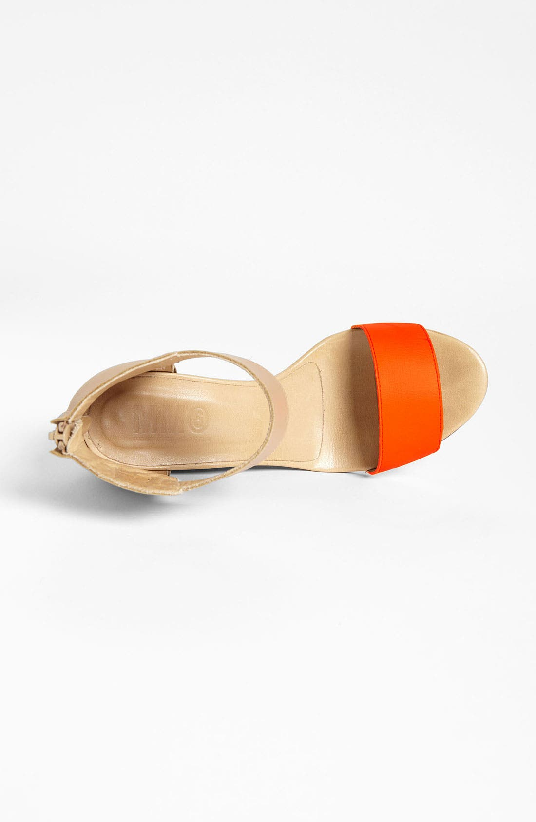 Alternate Image 3  - MM6 Maison Margiela Two Tone Wedge Sandal
