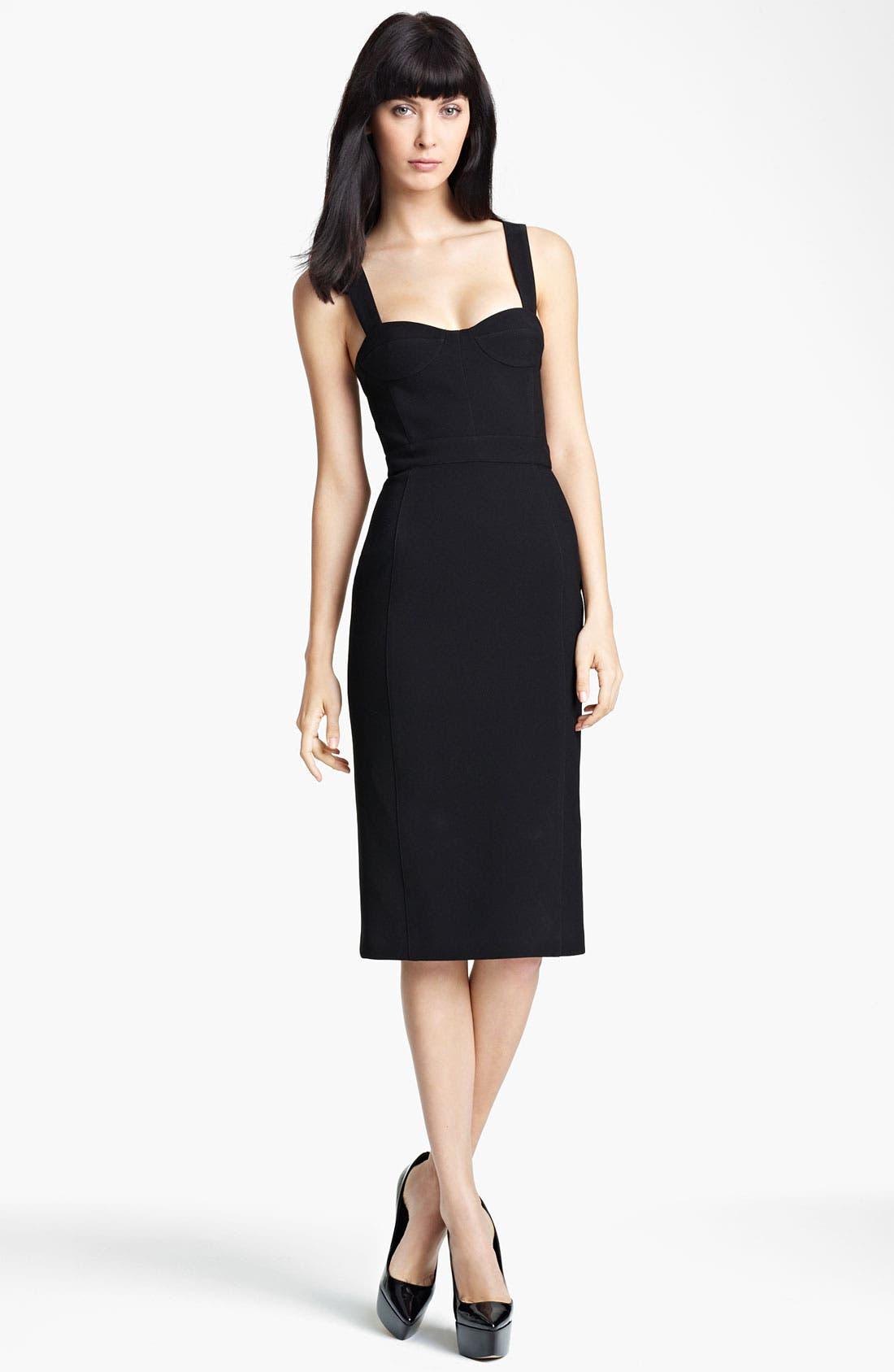 Alternate Image 1 Selected - Burberry Prorsum Bustier Dress