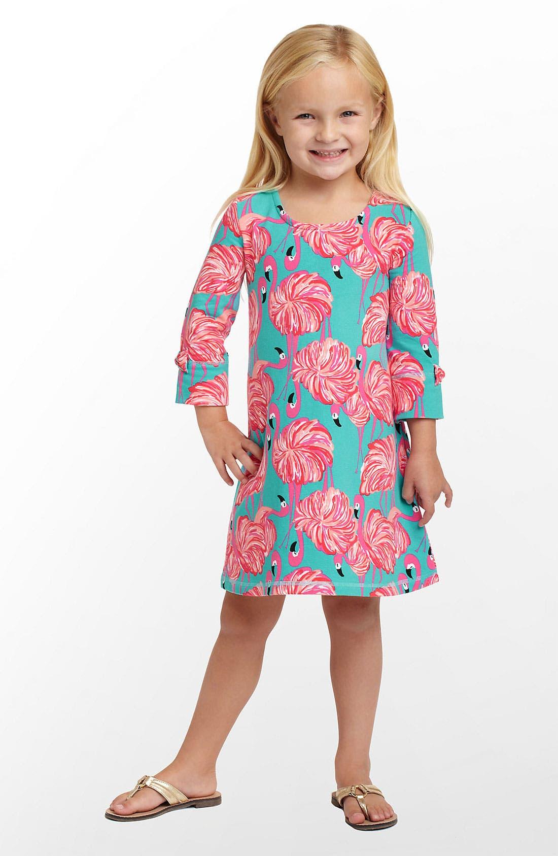 Alternate Image 1 Selected - Lilly Pulitzer® 'Primm' Knit Dress (Little Girls & Big Girls)