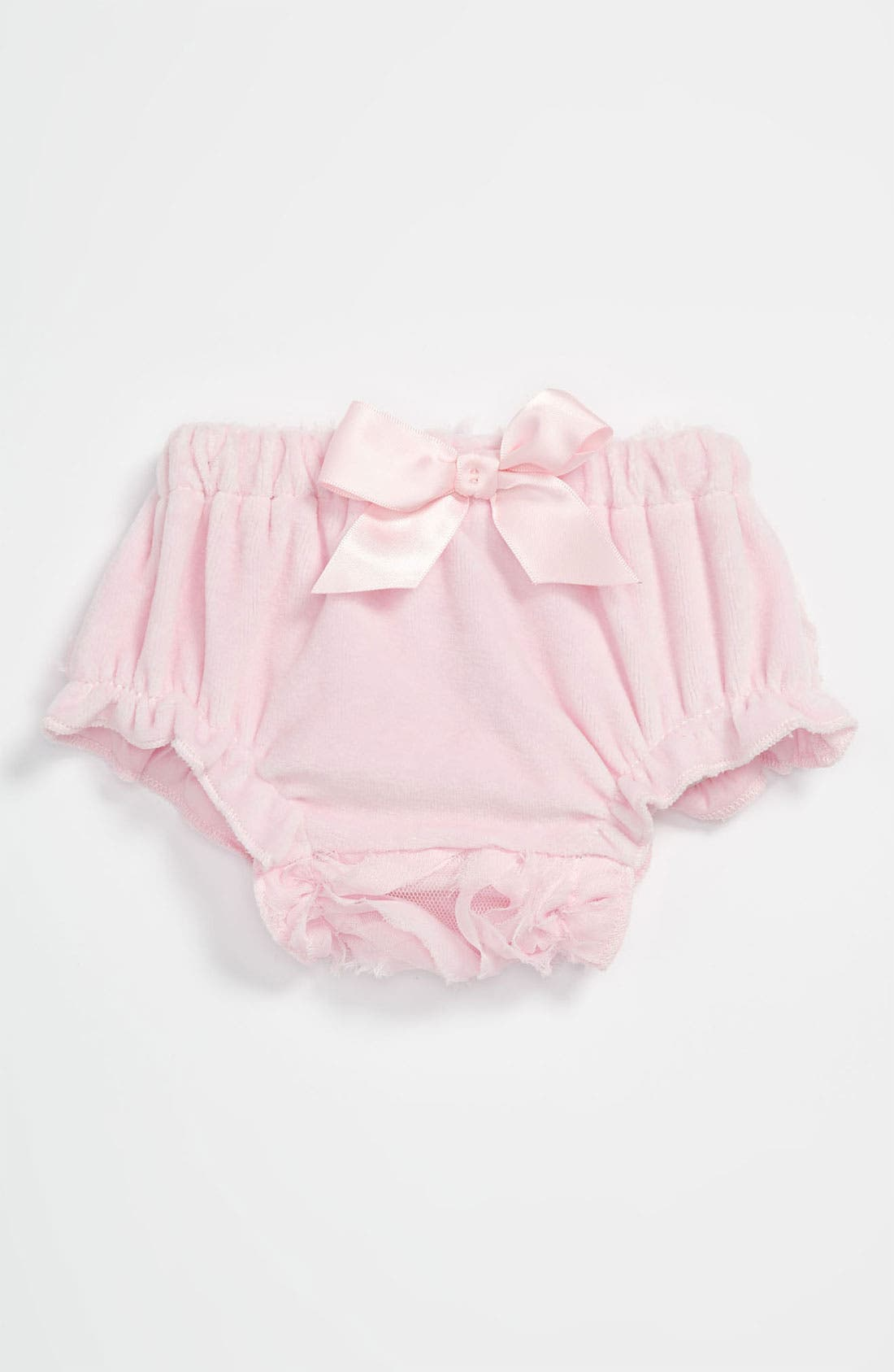 Alternate Image 1 Selected - Mud Pie Chiffon Rosette Bloomers (Baby Girls)