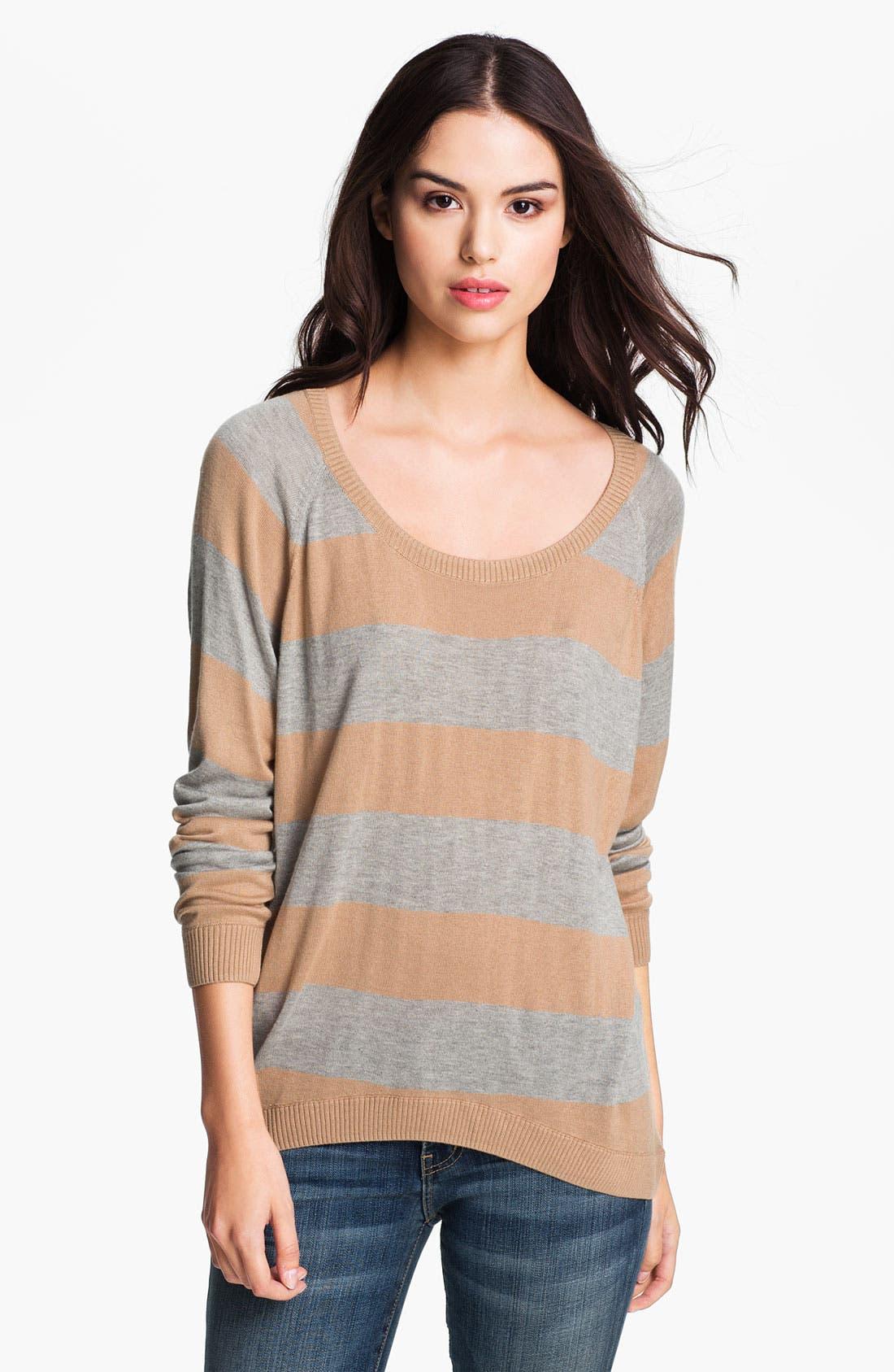Alternate Image 1 Selected - Haute Hippie Stripe Sweater