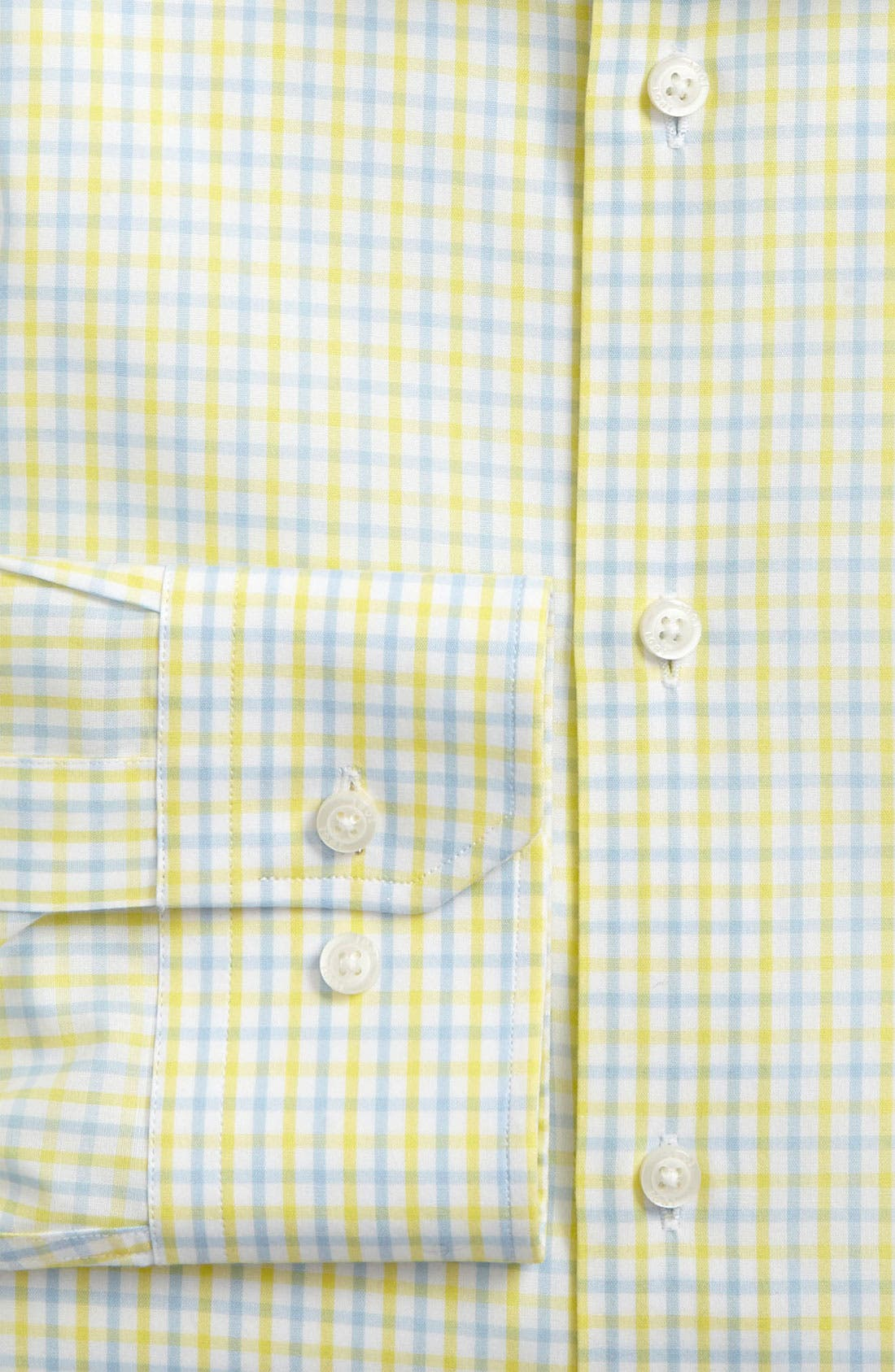 Alternate Image 2  - 1901 Trim Fit Dress Shirt (Online Only)