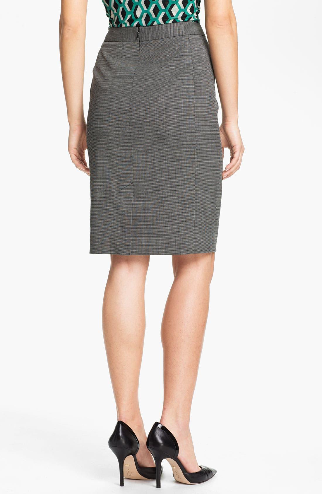 Alternate Image 2  - Classiques Entier® Tropical Wool Pencil Skirt