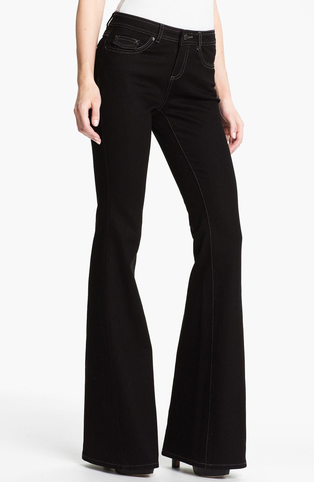 Alternate Image 1 Selected - Rachel Zoe 'Rachel' Flare Leg Jeans (Long)