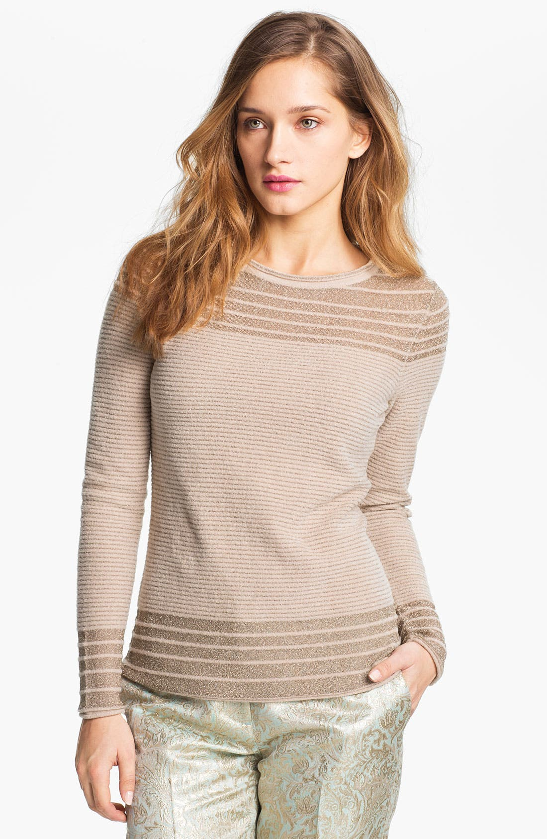 Alternate Image 1 Selected - Tory Burch 'Anabelle' Sweater