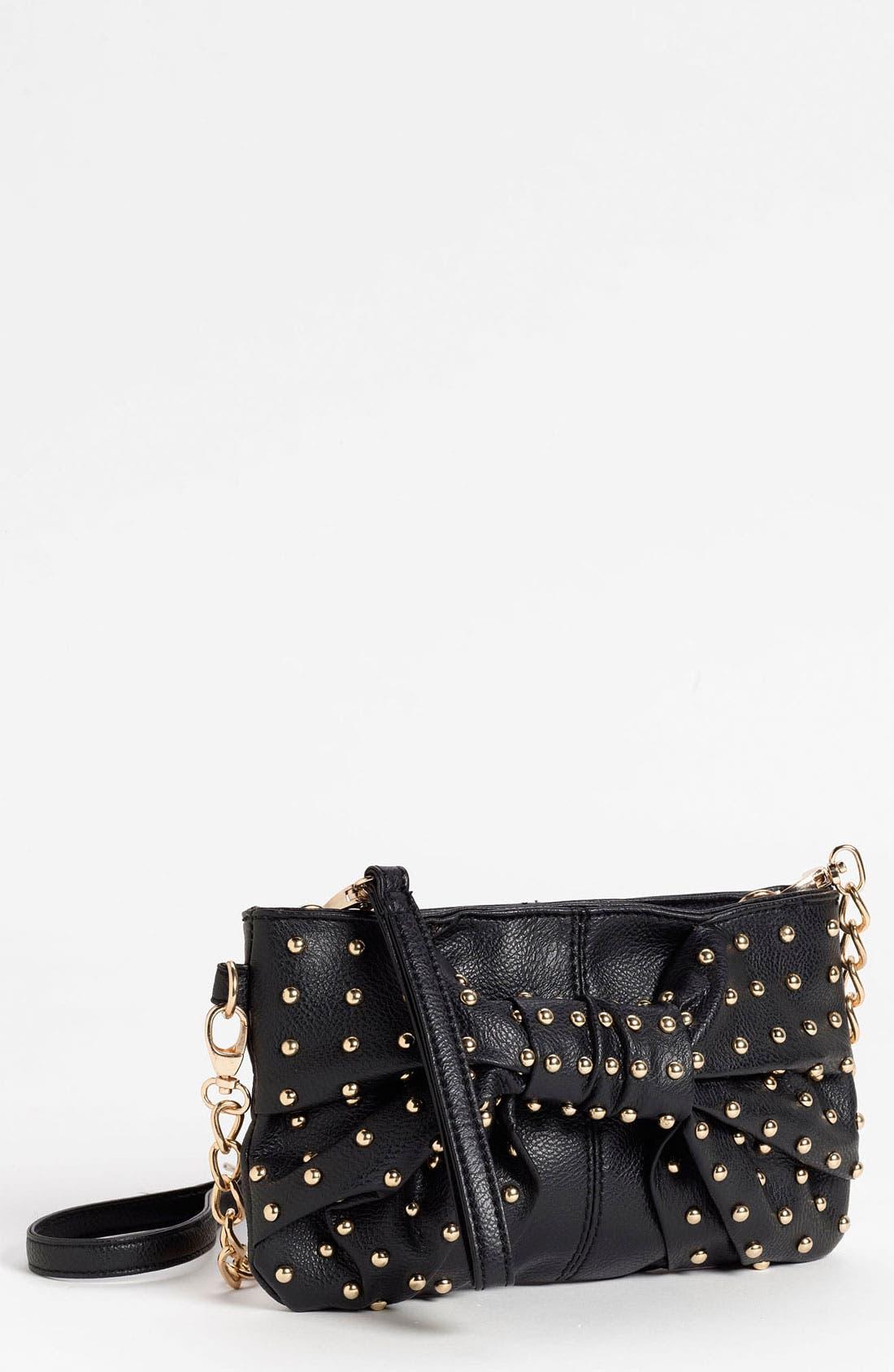 Main Image - Cesca Studded Bow Convertible Crossbody Bag