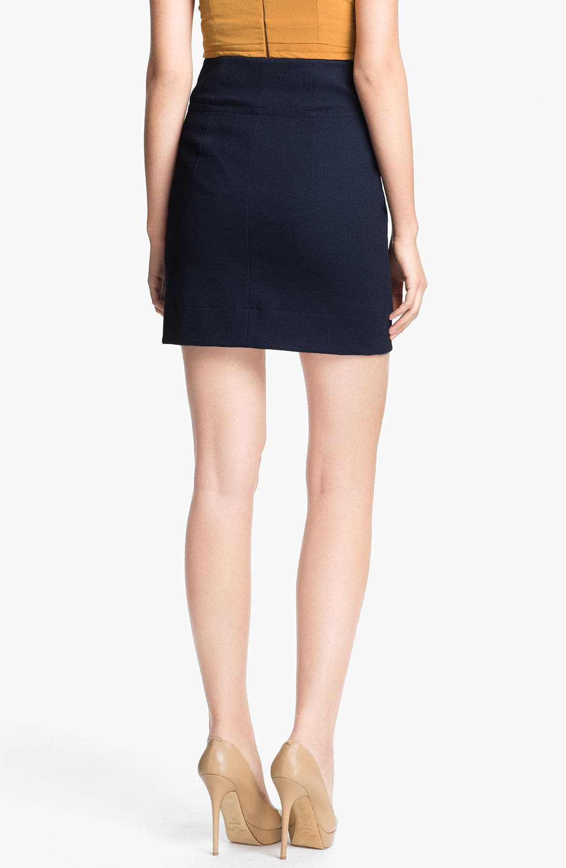Alternate Image 2  - Carven Zip Front Skirt