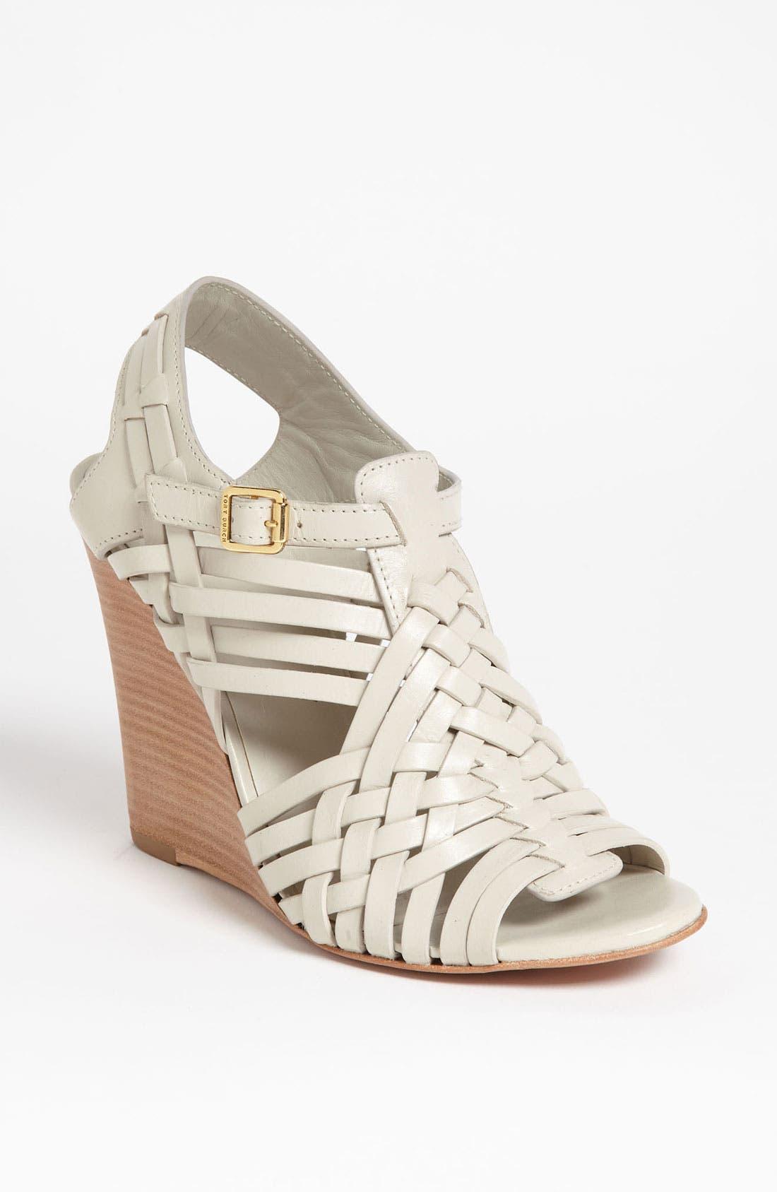 Alternate Image 1 Selected - Tory Burch 'Nadia' Wedge Sandal