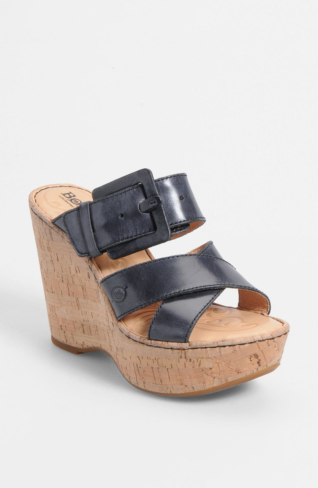 Main Image - Børn 'Beau' Wedge Sandal (Nordstrom Exclusive)