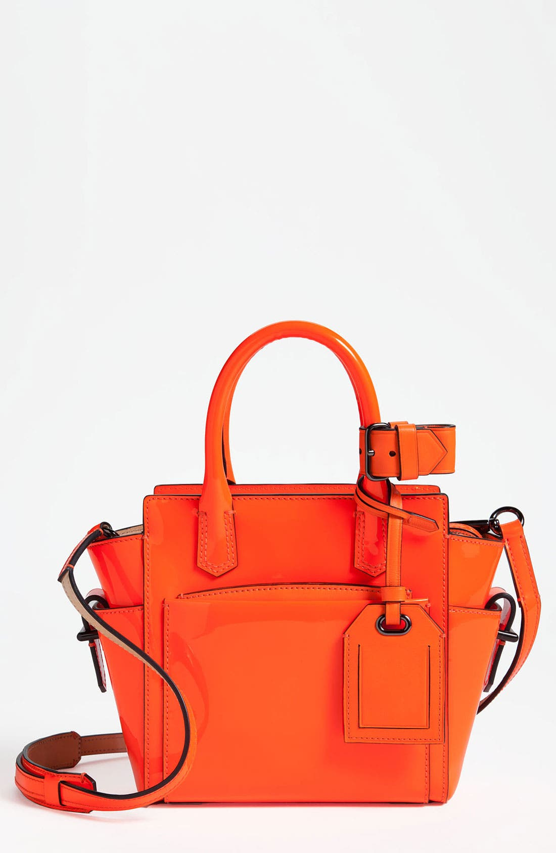 Alternate Image 1 Selected - Reed Krakoff 'Atlantique - Micro' Patent Leather Satchel