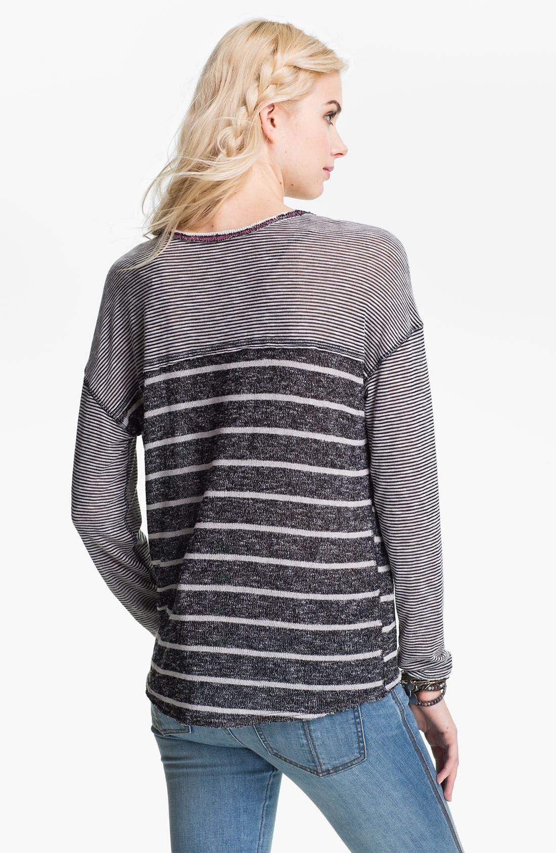 Alternate Image 2  - Free People 'Hang Ten' Twin Stripe Top