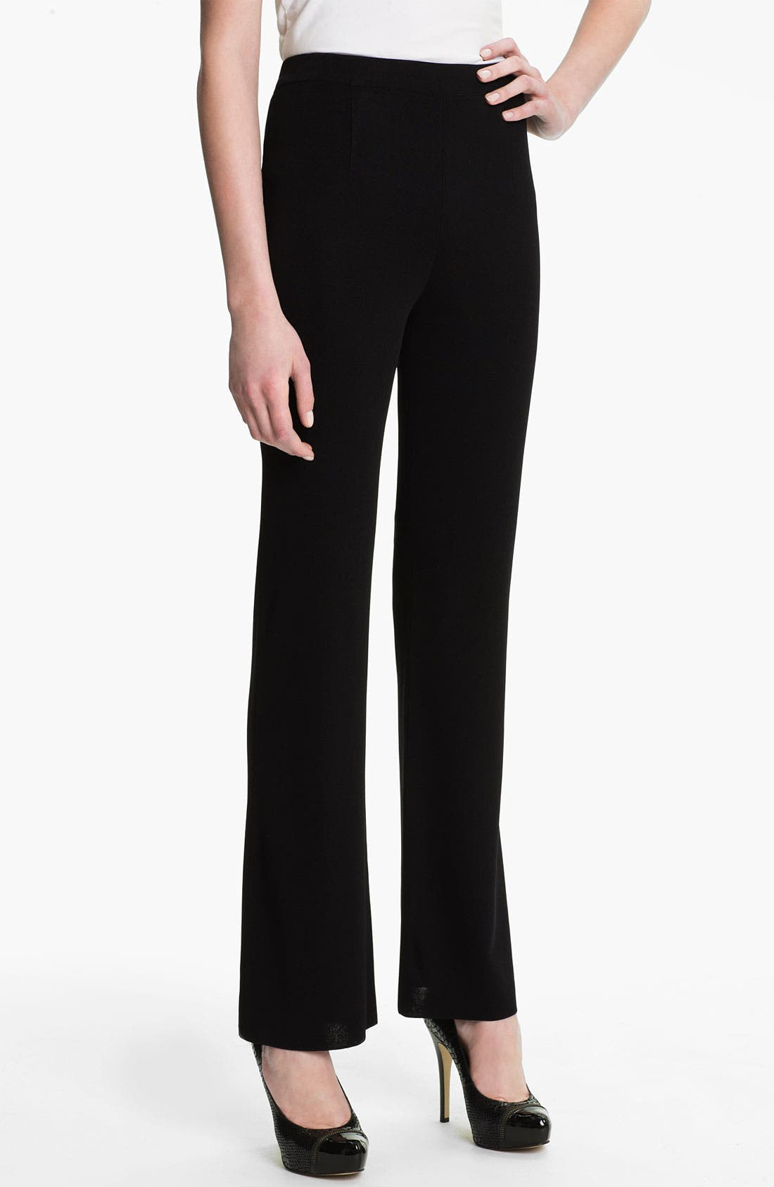Alternate Image 1  - Misook Bootcut Knit Pants