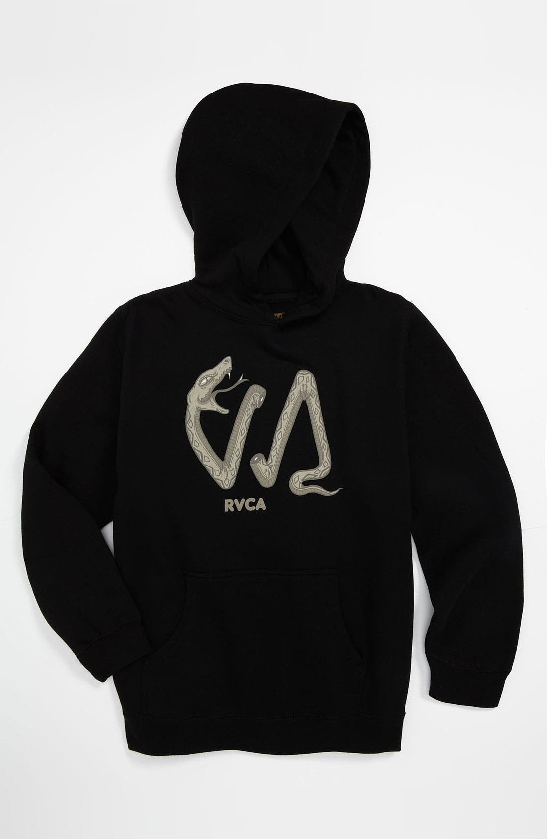Alternate Image 1 Selected - RVCA 'VA Snake' Hoodie (Big Boys)