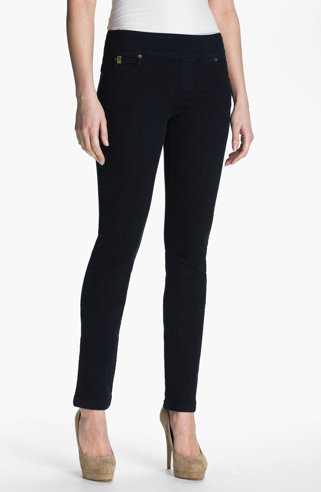 Main Image - Second Yoga Jeans Pull-On Skinny Jeans