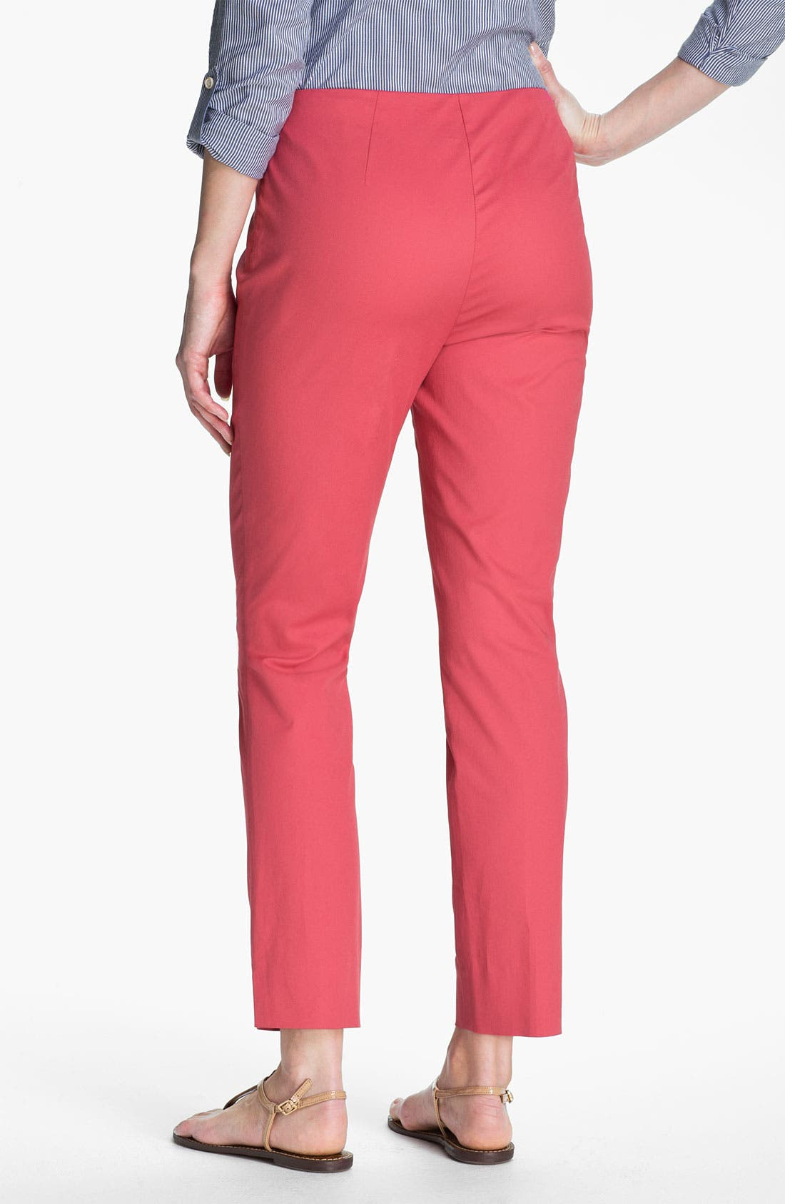 Alternate Image 2  - Lafayette 148 New York Twill Ankle Pants