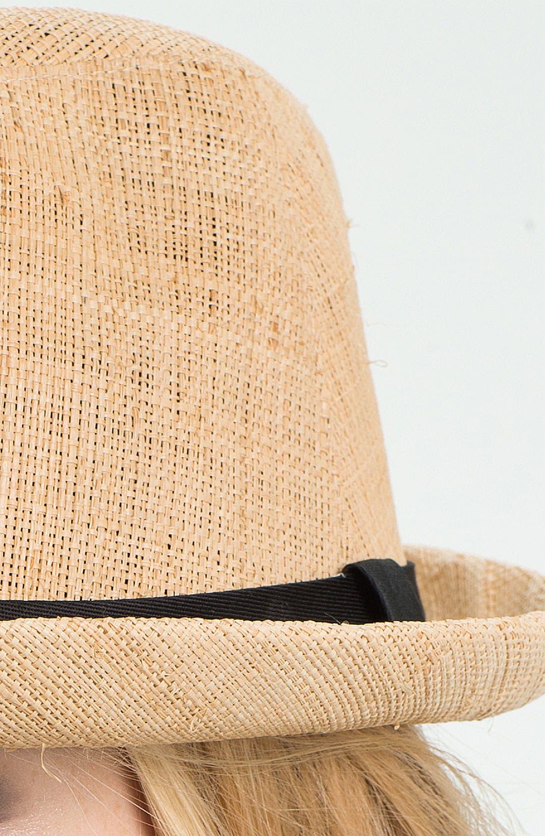 Alternate Image 2  - San Diego Hat Raffia Fedora