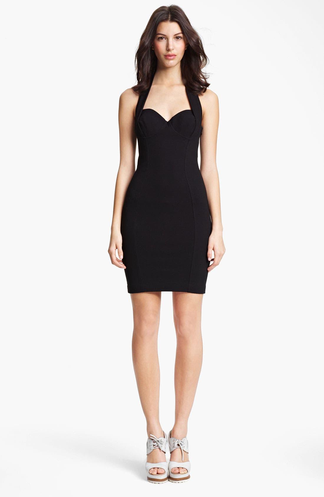 Alternate Image 1 Selected - Jean Paul Gaultier Jersey Halter Dress