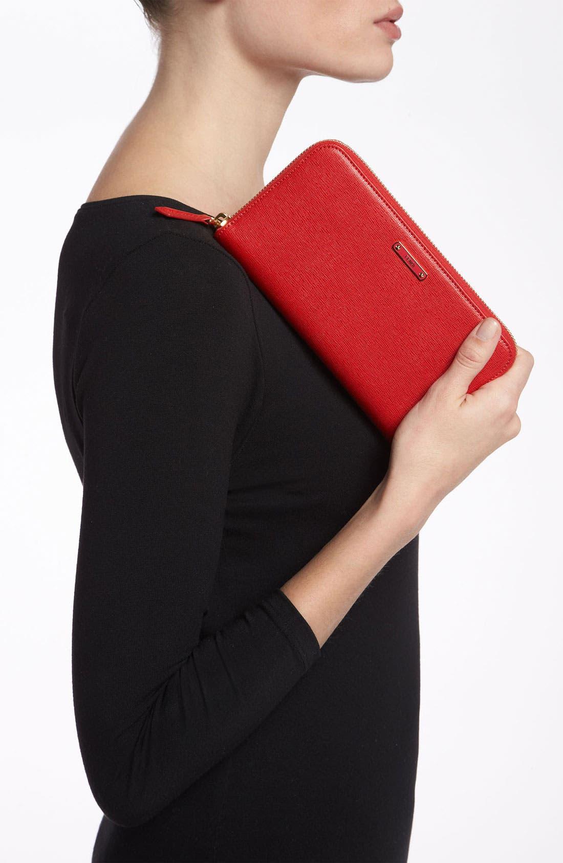 Alternate Image 4  - Fendi 'Crayons' Leather Wallet