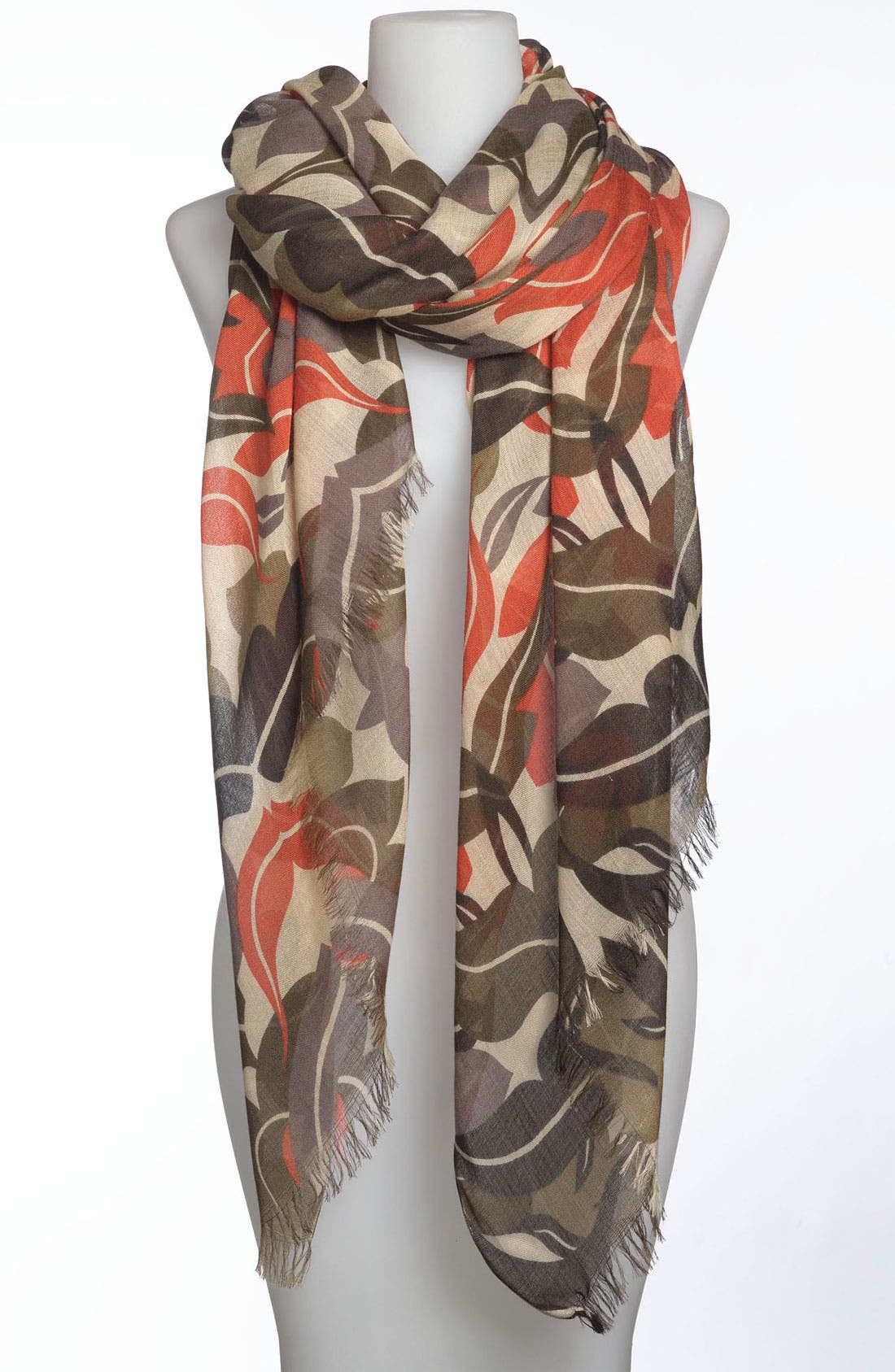 Main Image - Tasha 'Leaves of Glory' Scarf