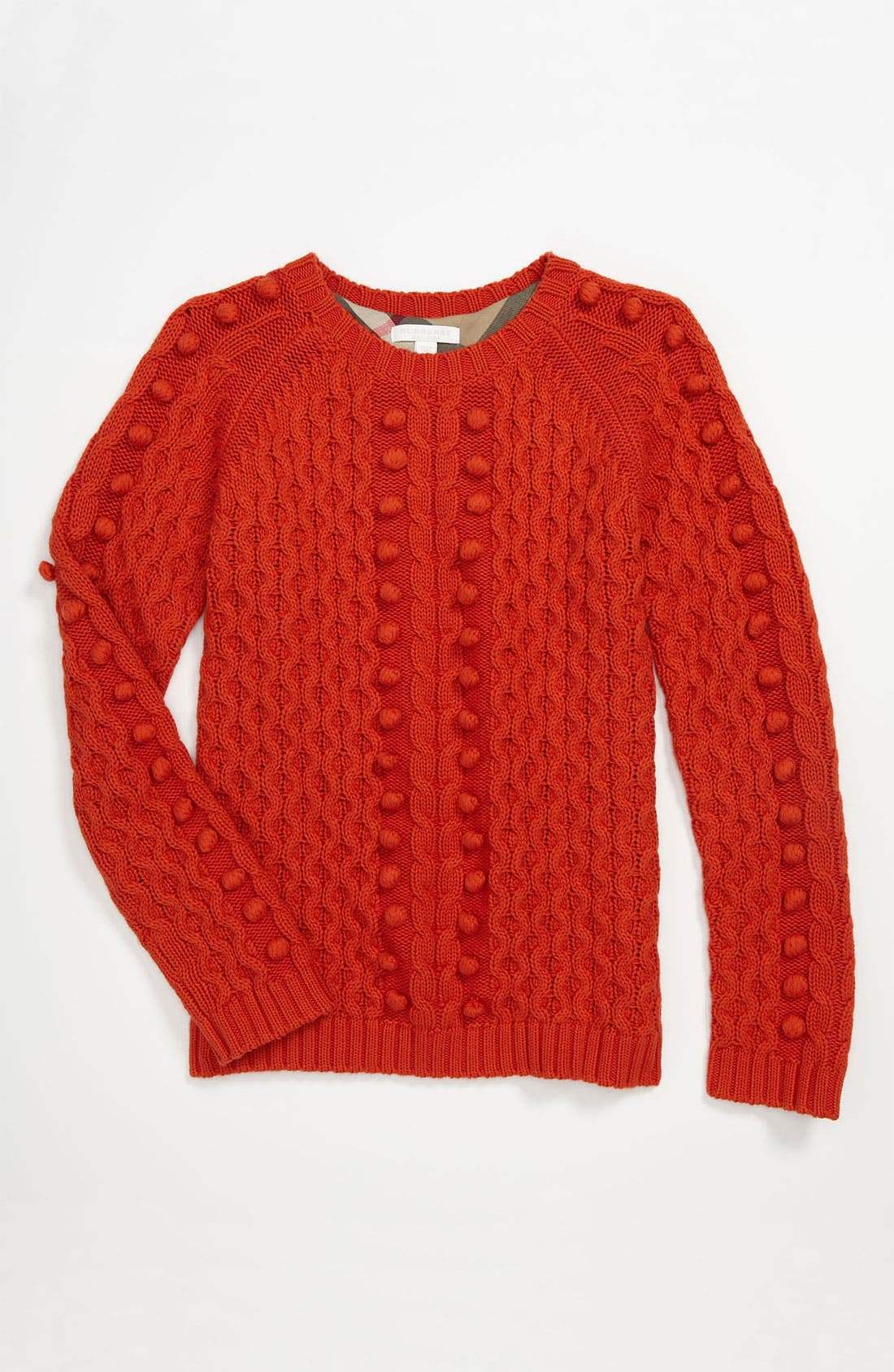 Alternate Image 1 Selected - Burberry 'Jacklyn' Sweater (Little Girls & Big Girls)