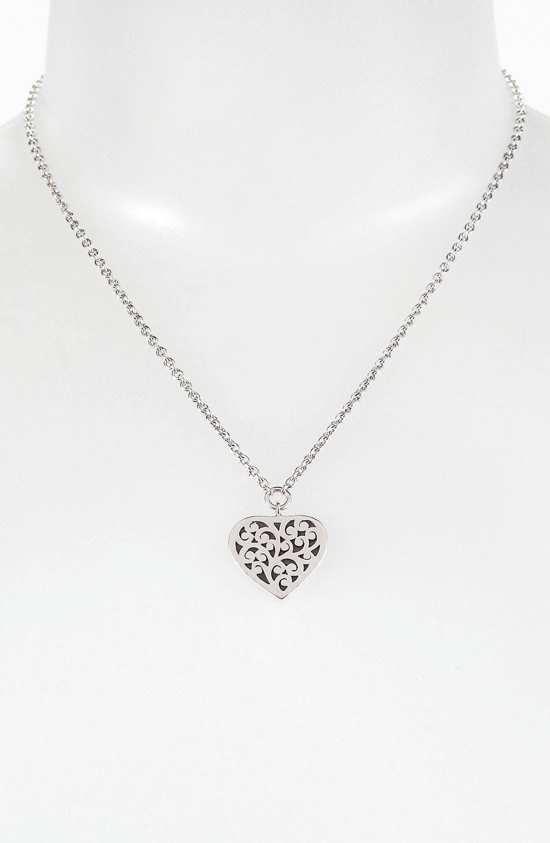 Main Image - Lois Hill Heart Pendant Necklace
