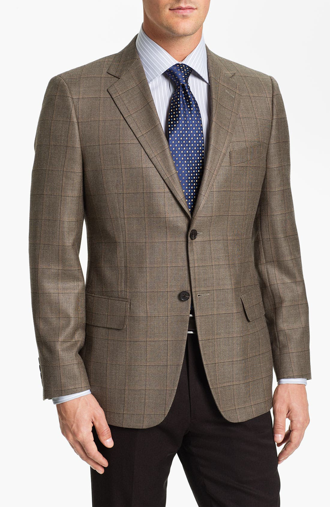 Alternate Image 1 Selected - John W. Nordstrom® Signature Plaid Sportcoat