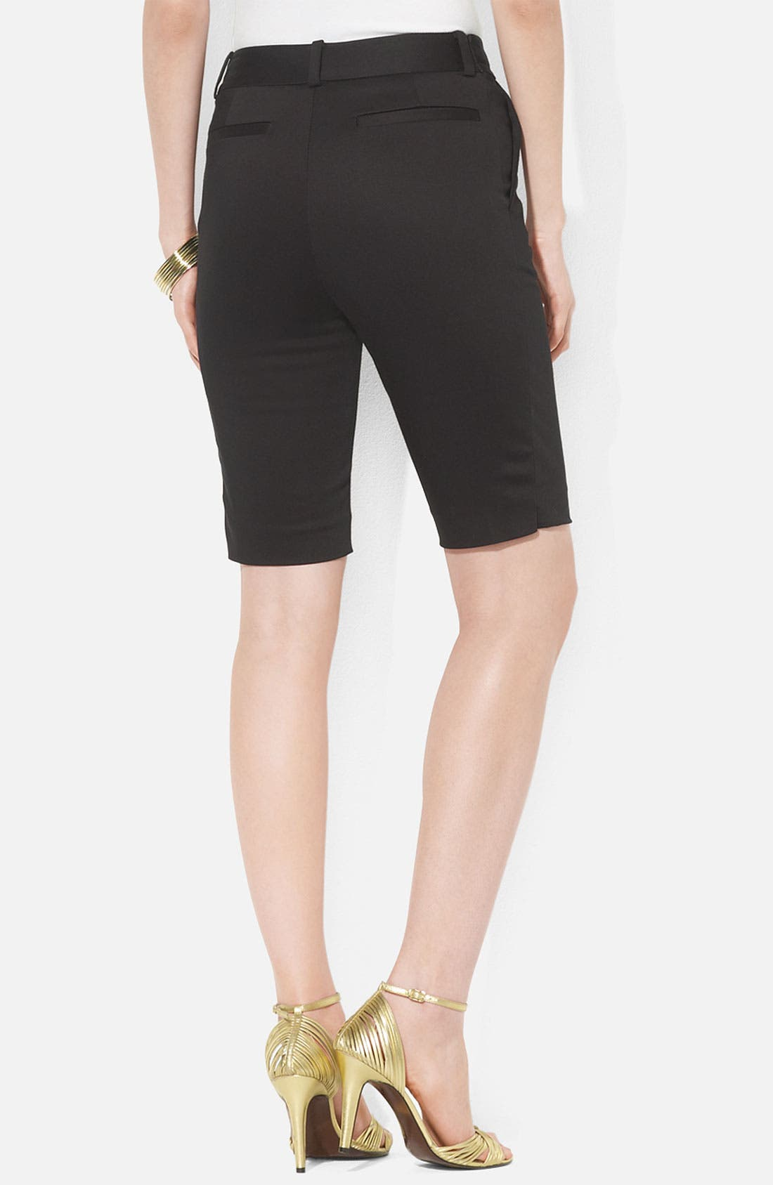 Alternate Image 2  - Lauren Ralph Lauren Zip Coin Pocket Bermuda Shorts (Petite)