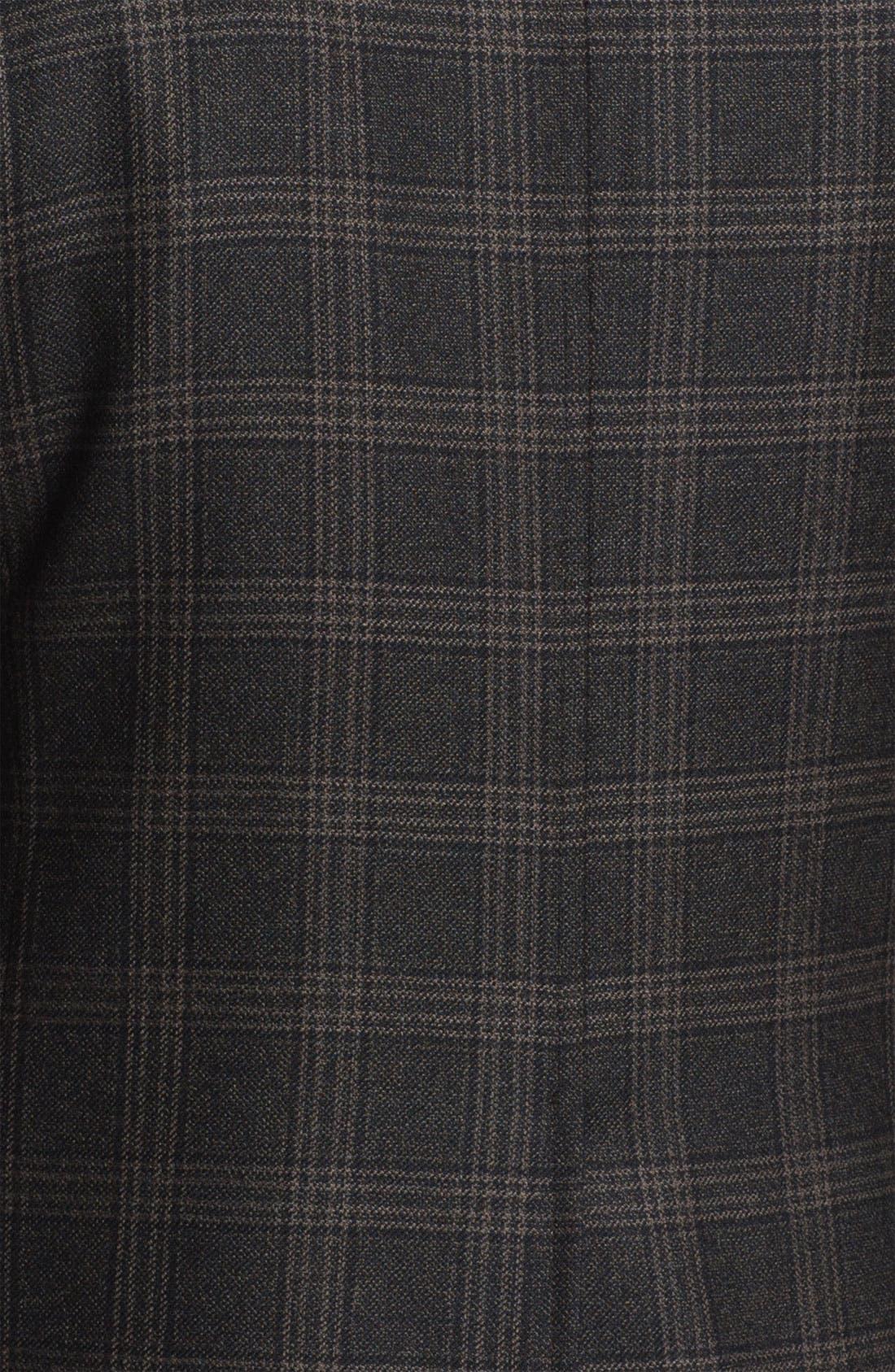 Alternate Image 3  - Brooks Brothers Plaid Sportcoat