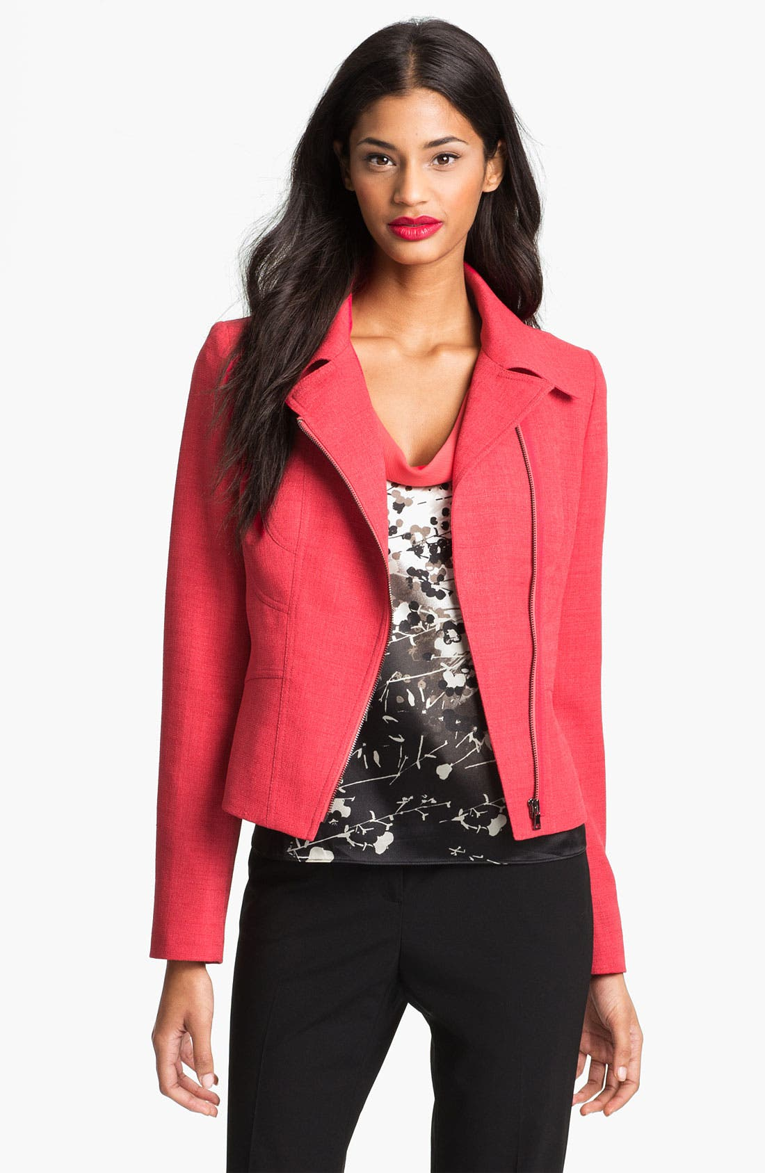 Alternate Image 1 Selected - T Tahari 'Vidala' Jacket (Petite)