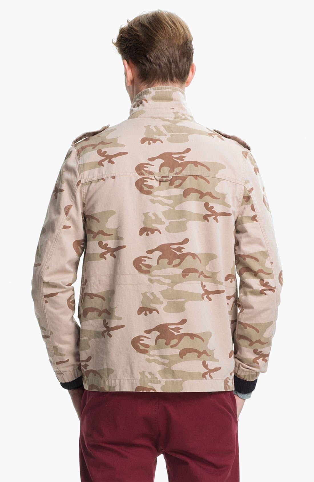 Alternate Image 2  - Topman Camo Field Jacket
