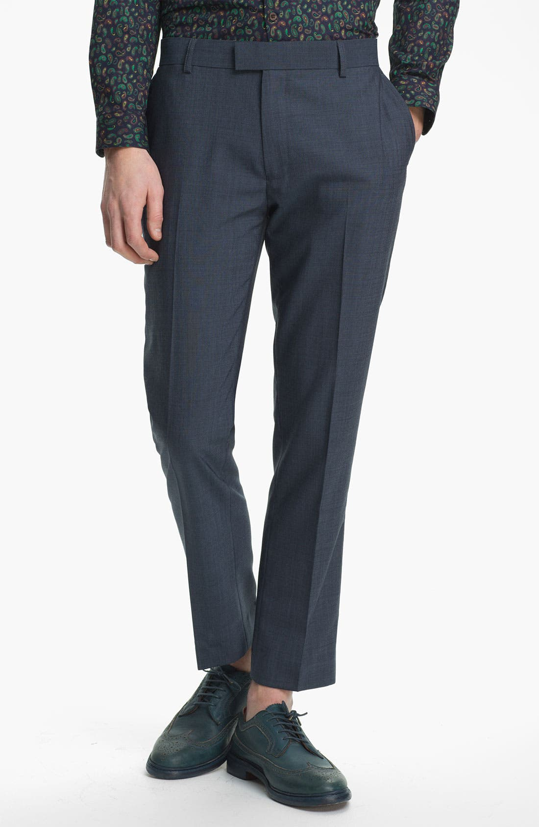 Main Image - Topman Skinny Fit Trousers