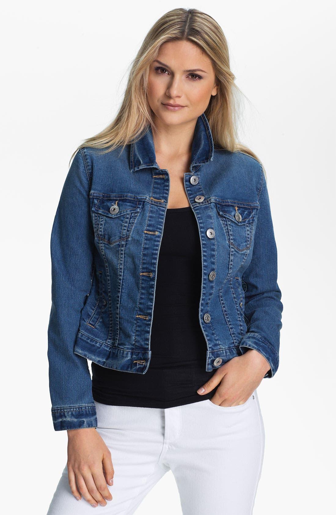 Main Image - Liverpool Jeans Company 'Blue Jay Way' Denim Jacket