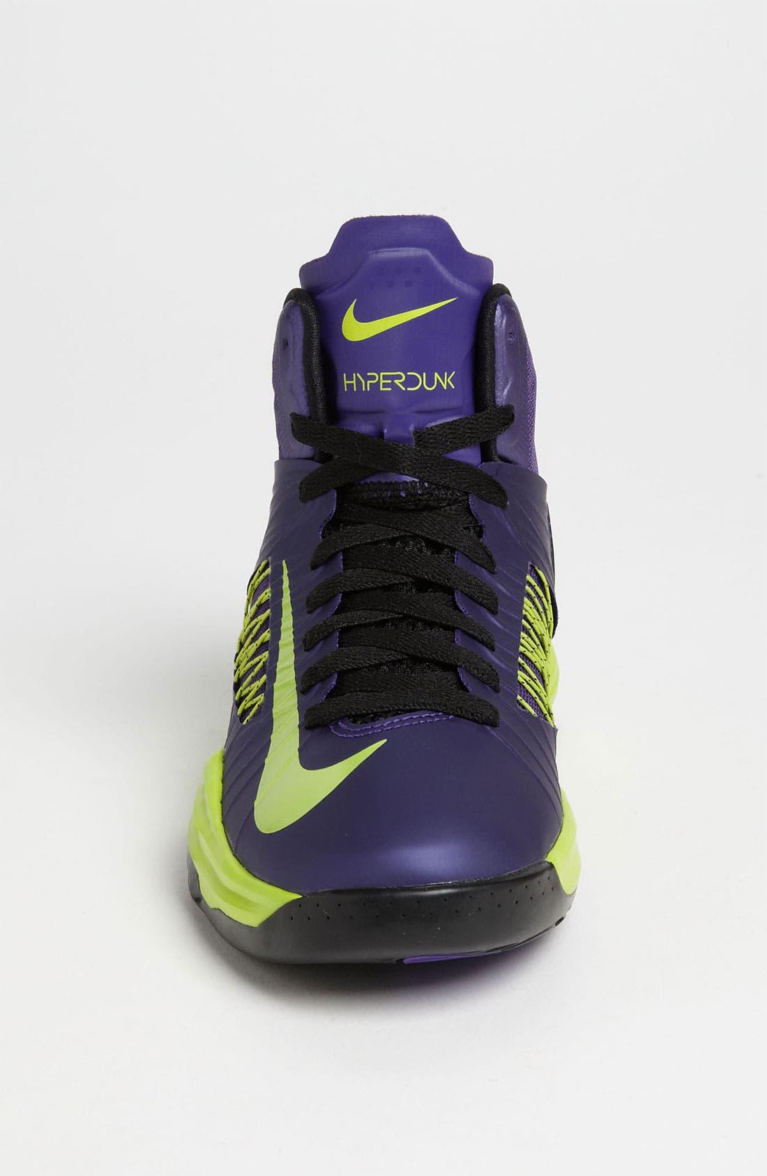 Alternate Image 3  - Nike 'Lunar Hyperdunk' Basketball Shoe (Big Kid)