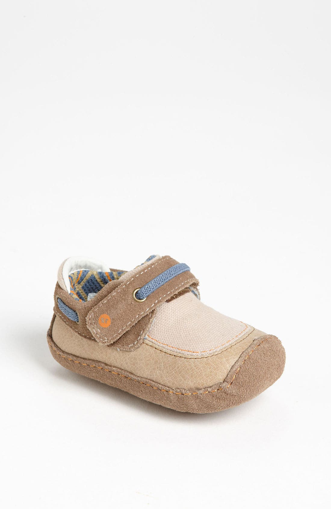Alternate Image 1 Selected - Stride Rite 'Crawl Mariner Monty' Slip-On (Baby)
