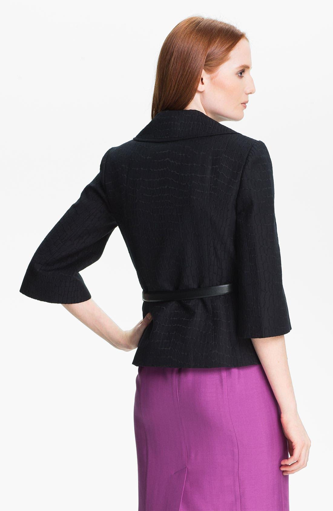 Alternate Image 2  - Classiques Entier® 'Dahlia Jacquard' Jacket