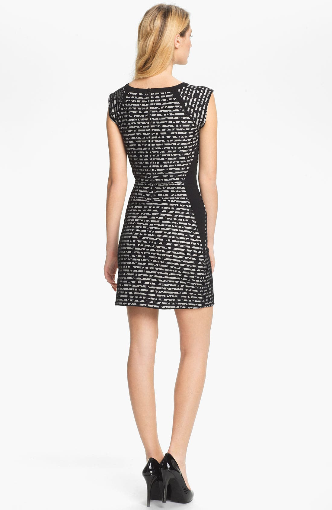 Alternate Image 2  - French Connection 'City Lace' Print Sheath Dress